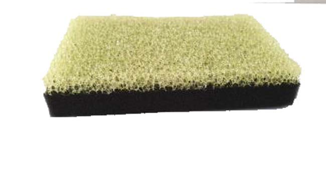 Clean Yellow Black Sponge