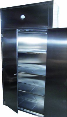 Stainless steel laminar flow cabinet