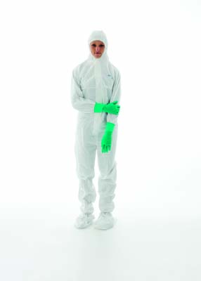 BIOCLEAN-D™ - Sterile coverall with hood & integrated boots