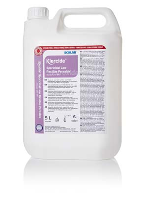 Klercide Sporicidal Low Residue Peroxide WFI Sterile