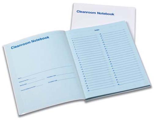 TexWrite® 22 cleanroom notebook
