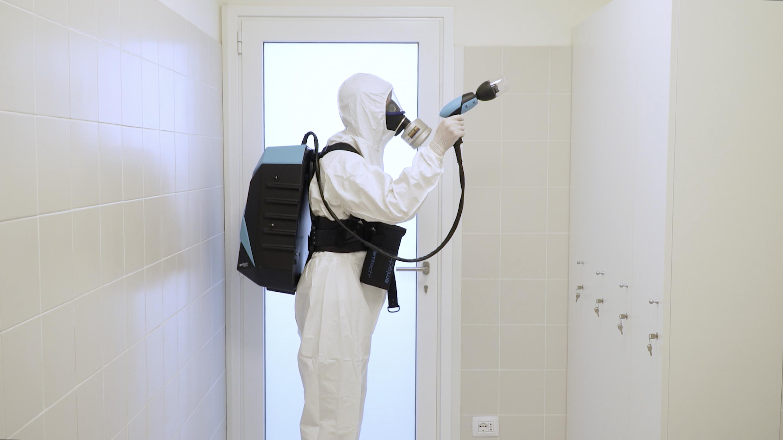 Biodecontaminazione Zherox b-pack