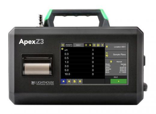 Contatore di particelle nell'aria Apex Z3