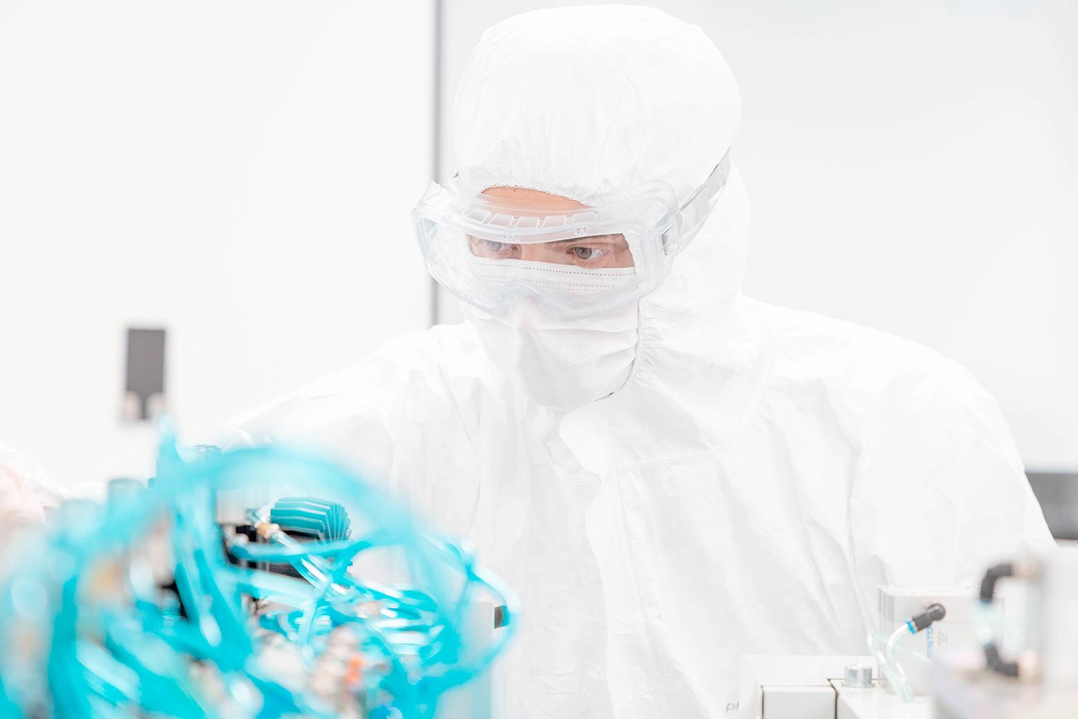 Operatore Cleanroom Pharmaclean